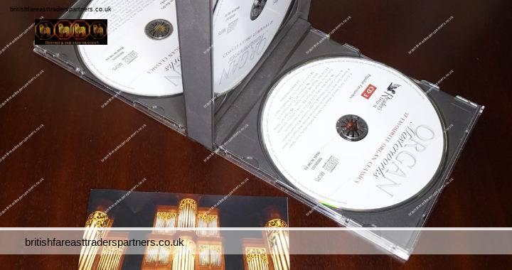 READER'S DIGEST ORGAN Masterworks 37 Favourite Organ Classics 3 CD Box Set + Booklet  VGC