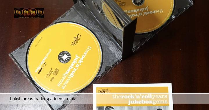 READER'S DIGEST The Rock n Roll Years Jukebox Gems 3 CD Box Set 65 Tracks