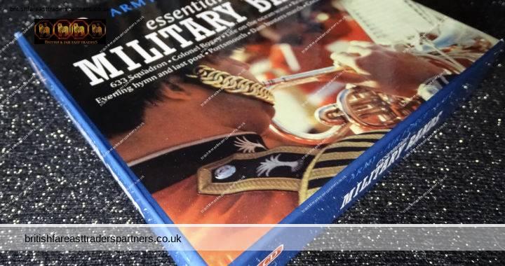 Royal ARMY / Royal AIR FORCE / Royal NAVY : The Essential Military Bands 3 CD Box Set