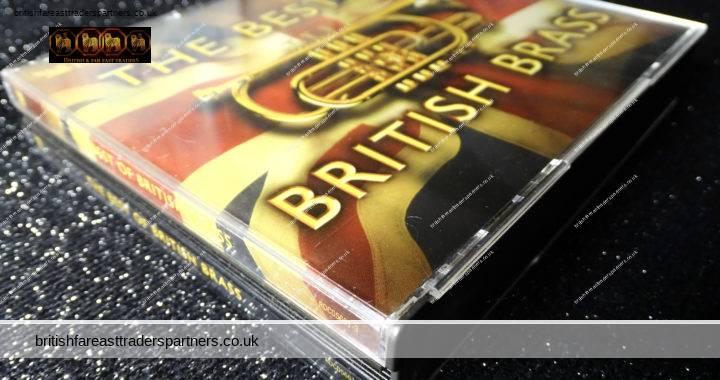 READER'S DIGEST THE BEST OF BRITISH BRASS 3 CD Set + Booklet 57 Tracks VGC