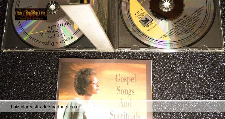 READER'S DIGEST 2001 Gospel Songs And Spirituals 53 Tracks 3 CD Set + Booklet