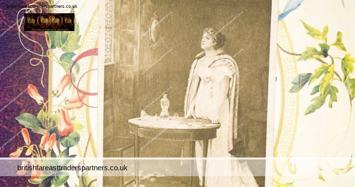 VINTAGE EPHEMERA POSTCARD The Gambler's Wife SOCIETY LADY Mrs Murray Cookesley Towneley Art Gallery Burnley Fine Arts Publishing Co Ltd
