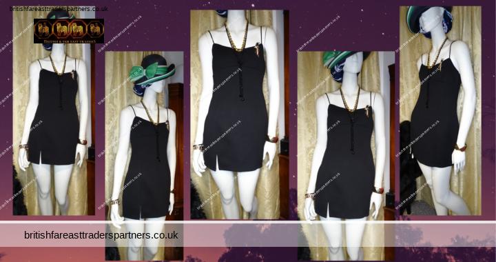 SHAREEN COLLECTIONS AUSTRALIA Little Black Dress SEXY PARTY COCKTAIL Split Dress Size 10
