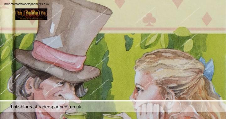 VINTAGE 1986 Alice in Wonderland Ladybird Children's Classics Lewis CARROLL Retold by Joan COLLINS Illustrated by Debbie BOON- JENKINS Coloured Hardback