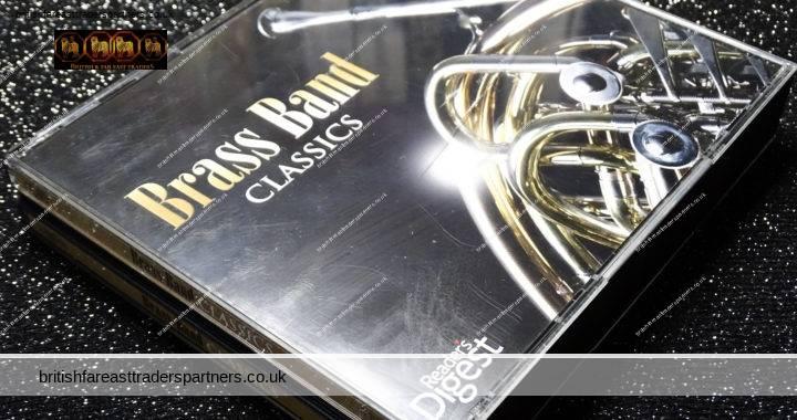 READER'S DIGEST 2010 BRASS BAND CLASSICS 3 CD Set  Jewel FATCASE 53 Tracks + Booklet