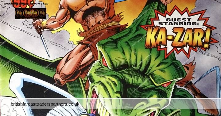 MARVEL COMICS USA PROFESSOR XAVIER AND THE X-MEN SEPTEMBER 1996 VOLUME 1 NUMBER 11 STARRING KA-ZAR! TERROR IN THE SKY! COMICS / COLLECTIBLES POP CULTURE / NOSTALGIA / HOBBIES / PASTIMES