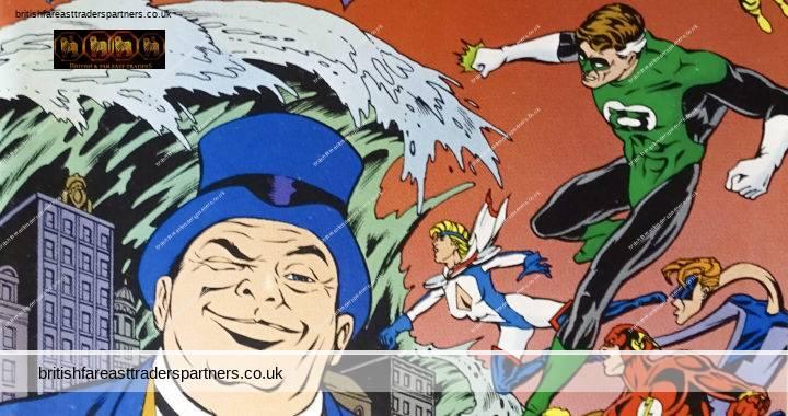 DC COMICS US OCTOBER 1992 NUMBER 43 JUSTICE LEAGUE EUROPE THE LUCK OF AMOS FORTUNE! GERARD JONES / RON RANDALL / RANDY ELLIOTT COMICS / COLLECTIBLES POP CULTURE / NOSTALGIA / HOBBIES / PASTIMES