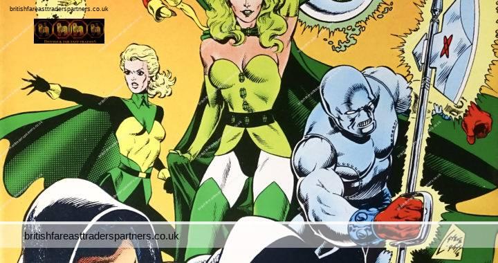 DC COMICS US SEPTEMBER 1986 NUMBER 26 LEGION OF SUPER HEROES: A HERO DIES AT THE HANDS OF THE FATAL FIVE PAUL LEVITZ / GREG LAROCQUE / MIKE DECARLO COMICS / COLLECTIBLES POP CULTURE / NOSTALGIA / HOBBIES / PASTIMES