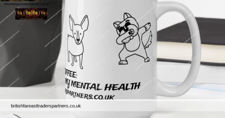 BRITISH & FAR EAST TRADERS BOSS & COFFEE: INVESTING ZEN TIME FOR MY MENTAL HEALTH 15 OZ. MUG