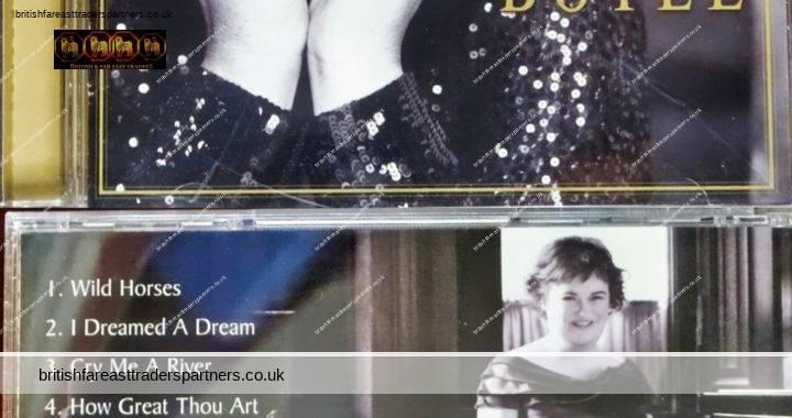 2009 SUSAN BOYLE I Dreamed A Dream SYCO Music | SONY Music 12 Tracks + Booklet