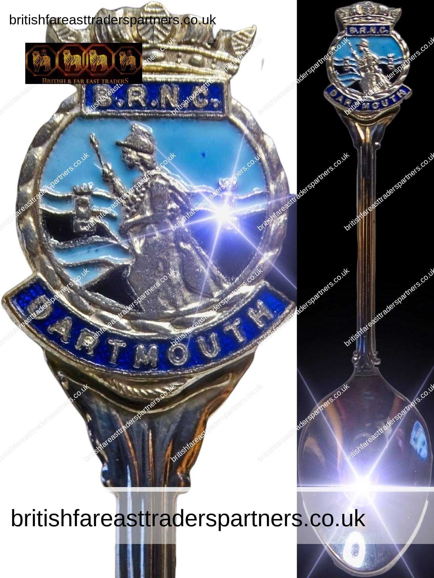 "BRNC DARTMOUTH ""BRITANNIA ROYAL NAVAL COLLEGE"" SOUVENIR SPOON W.A.W.P GREAT BRITAIN SILVER PLATED COLLECTABLES | MEMORABILIA | SOUVENIRS"