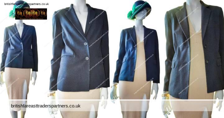 LADIES' WOMEN'S PHASE EIGHT UK 8 TAILORED SUIT JACKET / BLAZER WORK | CASUAL | FORMAL | BUSINESS | CITY | ELEGANT | DESIGNER | POWER DRESSING | BOSS WOMAN